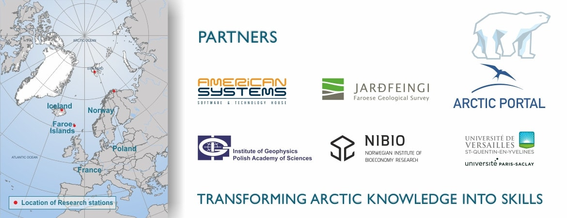 EDU-ARCTIC partners
